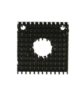 MXI0038 - Dissipador Aluminio para Motor Passo Nema 17 - MXI0038