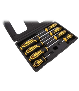 NB-03SET - Conjunto de 8 chaves Fendas e Philips - NB-03SET