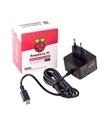 Fonte Oficial Raspberry 3.0A 15.3W USB-C para Pi4 - MX0353401