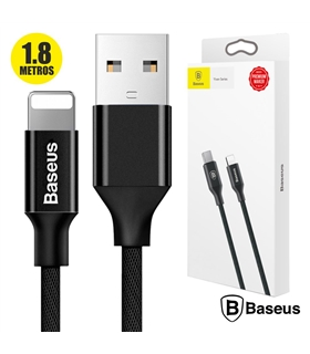 Cabo USB-Lightning Iphone 1.8mt Preto - CALYWA01