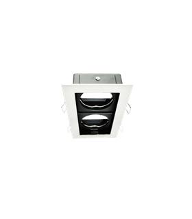 101760-BL - Mini Cardan Para 2xGU10 Branco - 101760-BL