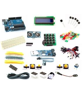Starter Kit Arduino Uno R3 + Caixa - MXB0033