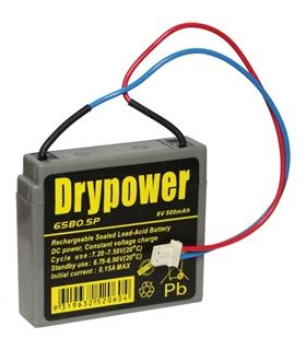 6SB0.5P - Bateria Gel Chumbo 6V 500mAh - 6SB0.5P