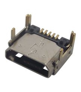 629105150521 - Ficha Micro USB 2.0, 5 Vias, CI - 629105150521