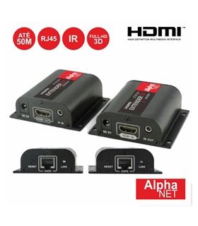 CT373/9 - Receptor e Transmissor HDMI Via RJ45 Cat6 50M - CT373/9