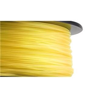 Filamento de impressão 3D Amarelo Tran em ABS+ de 1.75mm 1Kg - DEVABST175BYT