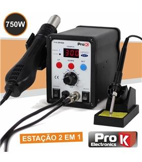 Estaçao Dessoldar Ar Quente 750W - PKDS102A