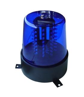 JDL010B - Pirilampo Leds Rotativo 360º Azul - JDL010B