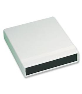 1598ASGYPBK - Caixa Plástica, ABS, 157x94x36mm, IP54 - 1598ASGYPBK