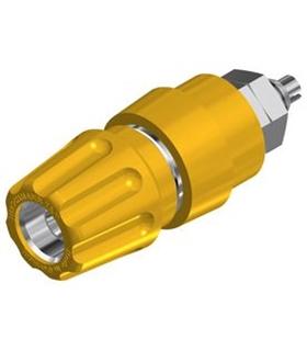 Alveolo Painel 63A 60VDC Amarelo - MX930136103