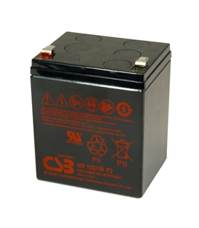 HR1221W - Bateria 12V 5A High Rate CSB - HR1221W