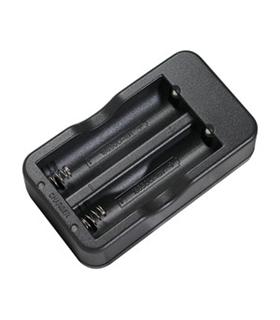 50.023 - Carregador Baterias Liion 2x18650 - DH50.023