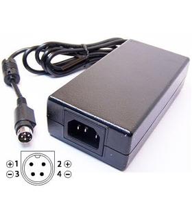 Fonte de alimentação 12VDC 6.67A 80W Power-DIN 4 pinos - PSE50007