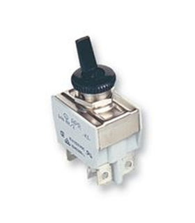 641NH/2 - Toggle Switch, Off-On, DPST, Non Illuminated, 15A - 641NH/2
