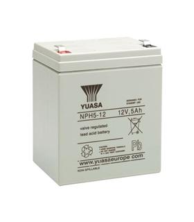 NPH5-12 - Bateria 12V 5A Yuasa - NPH5-12
