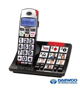 Telefone Teclas Grandes C/ 10 Memórias Diretas E Luz Daewoo - DTD-7500