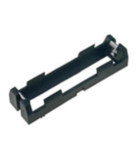 Suporte 1 Pilha CR18650 Circuito Impresso - S1CR18650CI