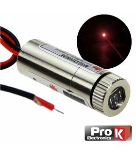 MLV467C - Modulo Laser Vermelho 3-5V 5mW Ponto - MLV467C