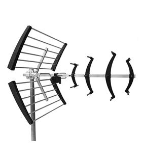 Antena UHF serie NEO compacta, canais 21/60, G=16db - NEO-046