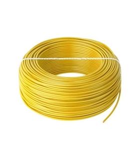 Fio Multifilar 1mm Amarelo - H05VK1Y