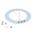 Lâmpada Led Circular c/ Ímans 185mm 230VAC 18W 1650lm 6500K