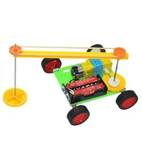 Kit Educativo Carro Robo Varredor Com Rodas - KIT1413