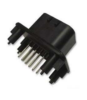 1-776200-1 - Conector Macho Rectangular, 23 Contactos, PCB, - 1-776200-1