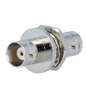 Adaptador RF, BNC Femea / BNC Femea c/ Rosca de 10mm - 69BNCFFR