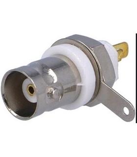 Conector RF BNC  Femea, Painel Isolada - 69BNCFPI
