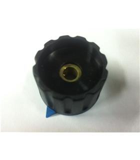 Botão Para Potenciometro Rotativo com Parafuso 6mm, Ø28x18mm - BPRP