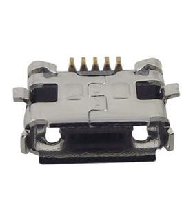 10104111-0001LF - Ficha Micro-USB B Circuito Impresso - MICROUSBAB