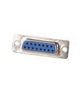 Conector Sub-D, Femea, 15 Pinos, Soldar - 69D15PF