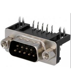 Conector Sub-D, Macho, 9 Pinos, PCB 90º - 69D9PMAR