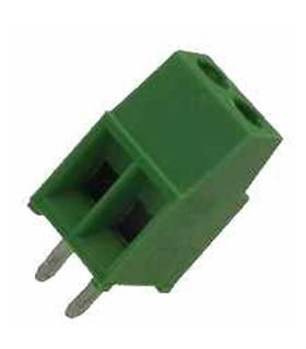 Bloco Terminal Parafuso ED, 2 Pinos, 2.54mm - 1.4mm2 - 69ED21.4