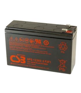 UPS12360-6F2F1 - Bateria CSB 12V 360W - UPS12360-6F2F1