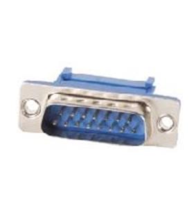 Conector Sub-D, Macho, 15 Pinos, Cravar Flat Cable - 69D15PMFC