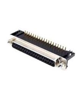 Conector Sub-D, Femea, 37 Pinos, PCB 90º - 69D37PFAR