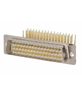 Conector Sub-D, Macho, 50 Pinos, PCB 90º - 69D50PMAR