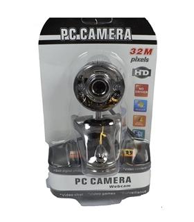 WebCam PC, 32MP, Ajuste Brilho e Imagem - WEBCAM32MP