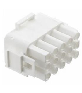 1-480710-0 - Conector Raster, Macho,  15 pinos, 6.35mm - 1-480710-0