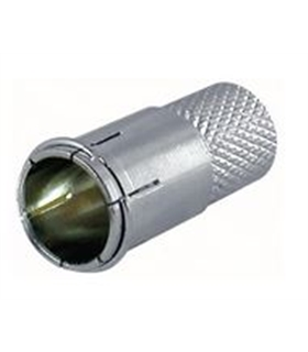 Conector RF Macho, F, Encaixe Rapido, Caixa 25 Unidades - 69FMECX25