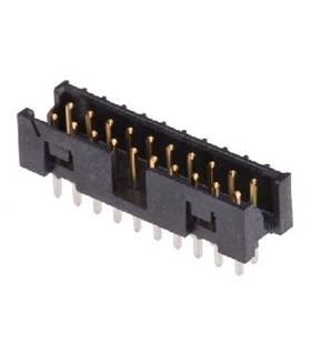 Conector IDC, Macho, 20 Pinos - 69H20