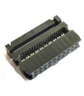 Conector IDC, Femea, 10 Pinos - 69IDC201MM