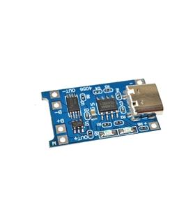 OKY3404-1 - Módulo Carregador Li-Po, Li-Ion, 5 Vdc, Mini USB - OKY34041