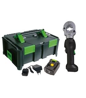 "216801/M-1 - Ferramenta de compressão  hidráulica a bateria"" - H216801/M-1"