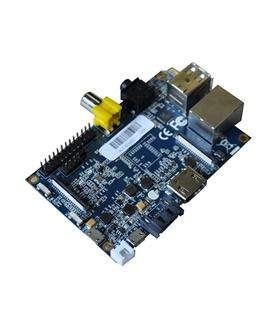 Banana Pi, 1Ghz Dual Core, 1GB DDR3, SATA - Oferta Caixa Pr - BANANAPI+CXP