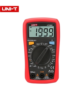 UT33B+ Multimetro Digital 3 1/2 Digitos - UT33B+
