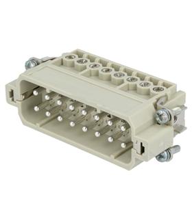 09200162612 - Conector HAN, Macho, 16 Pinos - 09200162612