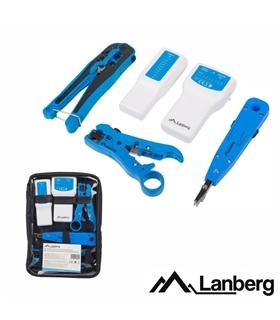 Kit Redes Com Testador para cabos RJ45/RJ11/RJ12 - NT0302