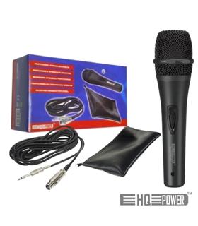 Microfone com fios  100Hz -14kHz Com 4 Metros Cabo - MICPRO8